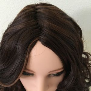 Other - Golden brown short curly wig 16 inch long